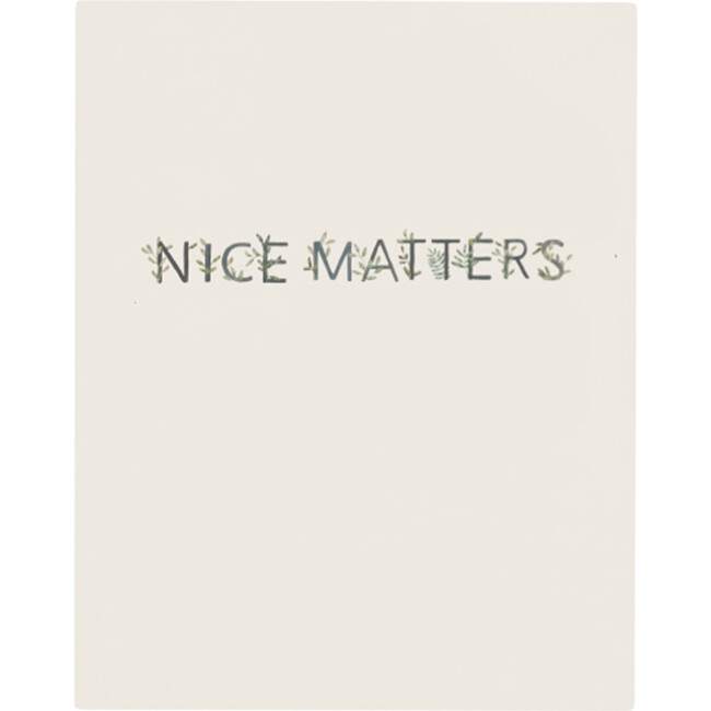 Nice Matters Art Print, Unframed