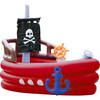 Water Fun Pirate Boat Inflatable Sprinkler Play Center with Pump - Pool Toys - 1 - thumbnail