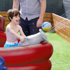 Water Fun Pirate Boat Inflatable Sprinkler Play Center with Pump - Pool Toys - 3