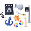Water Fun Pirate Boat Inflatable Sprinkler Play Center with Pump - Pool Toys - 4
