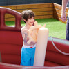 Water Fun Pirate Boat Inflatable Sprinkler Play Center with Pump - Pool Toys - 5
