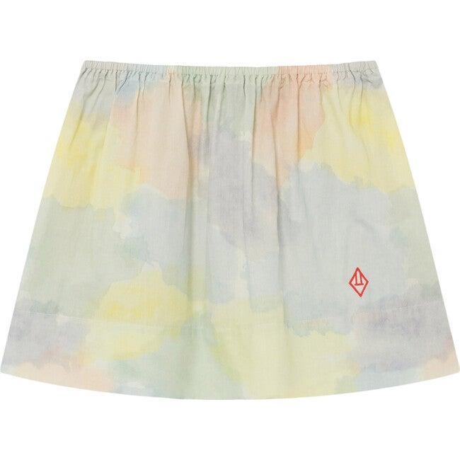 Impala Skirt, Multicolor Watercolor