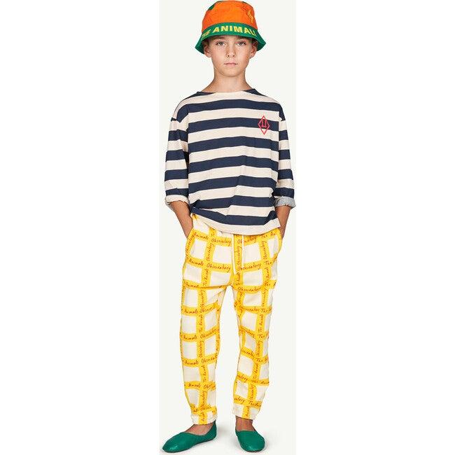 Dromedary Trousers, Yellow Check