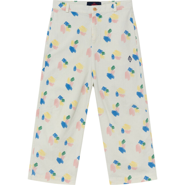 Camel Trousers, White Strokes