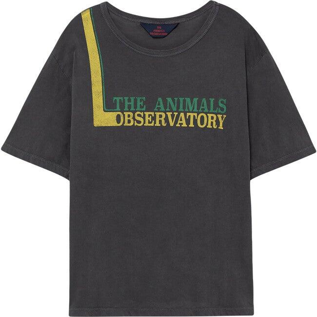 Rooster Oversize T-Shirt, Black