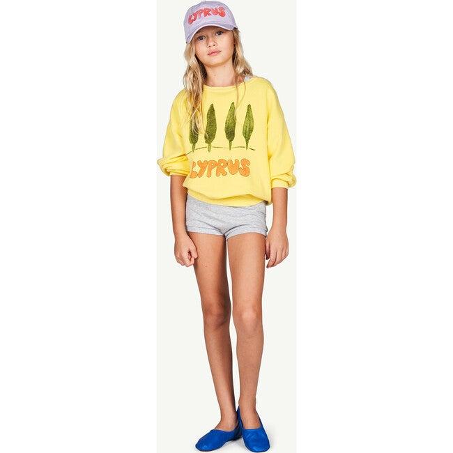 Bear Sweatshirt, Soft Yellow Cyprus