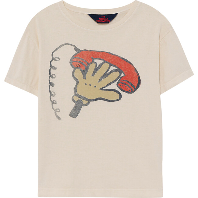 Rooster T-Shirt, White Telephone