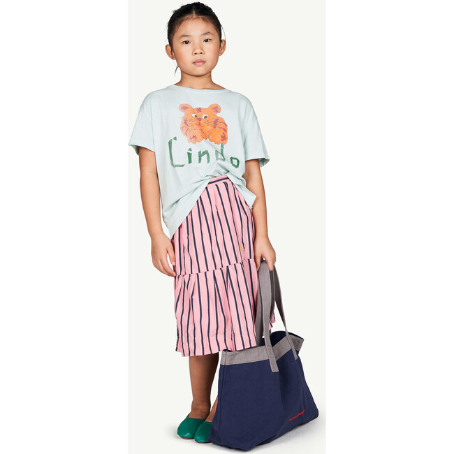 Rooster T-Shirt, Blue Lindo