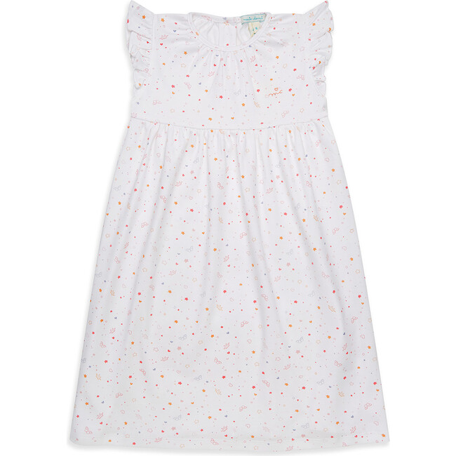 Star & Crown Print Nightgown - Nightgowns - 1