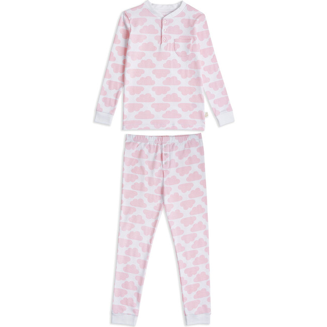 MC Cloud Print Pyjama in Pink