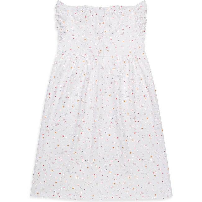 Star & Crown Print Nightgown