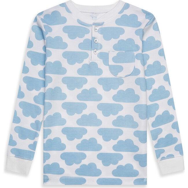 MC Cloud Print Pyjama in Blue