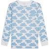 MC Cloud Print Pyjama in Blue - Pajamas - 2