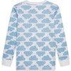 MC Cloud Print Pyjama in Blue - Pajamas - 3