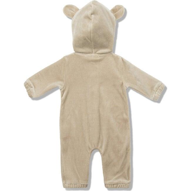 Velour Bear Suit in Caramel