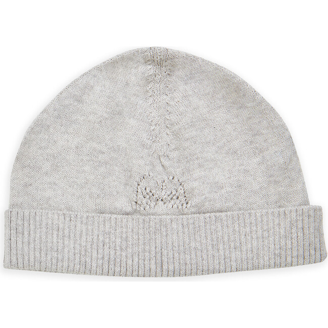 Angel Wing Knitted Hat, Grey