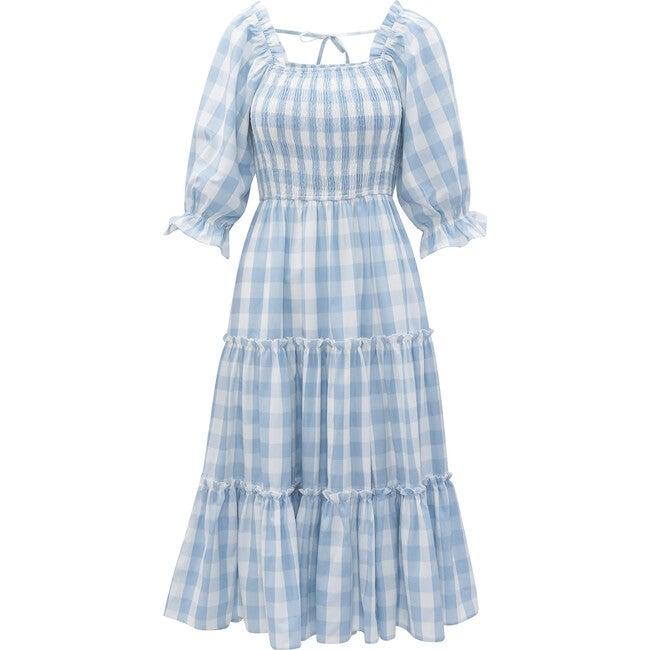 Women's Mia Gingham Dress,Blue