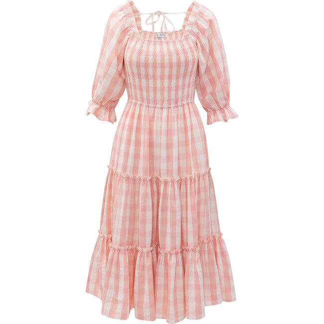 Women's Mia Gingham Dress, Pink