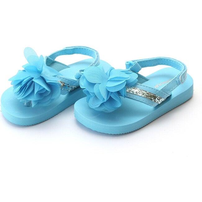 Kimberly EVA Glitter Flip Flop, Blue