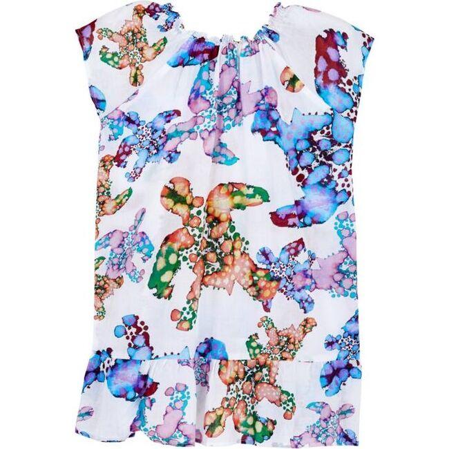 Watercolor Turtles Gizelle Dress