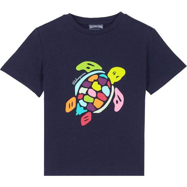 Multicolor Turtle T-shirt