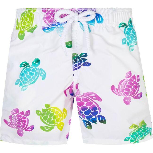 Multicolor Turtles Jim, White