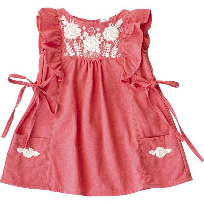 Lola Dress, Flamingo