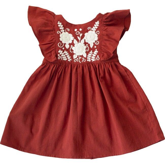 Hannah Dress, Rust