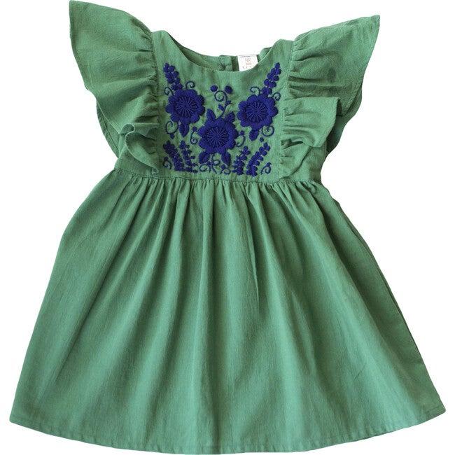 Hannah Dress, Pine