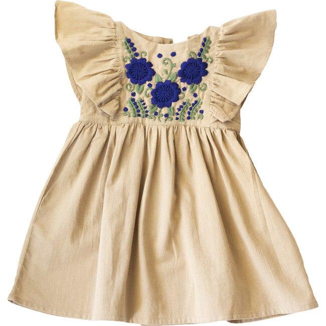 Hannah Dress, Almond