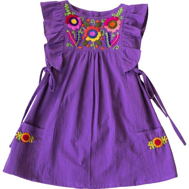 Arcoiris Dress, Grape