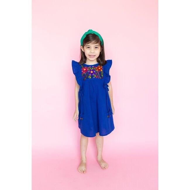 Arcoiris Dress, Cobalt Blue