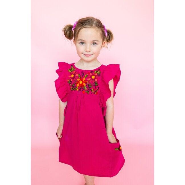 Arcoiris Dress, Fuchsia
