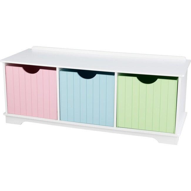 Nantucket Storage Bench - Pastel