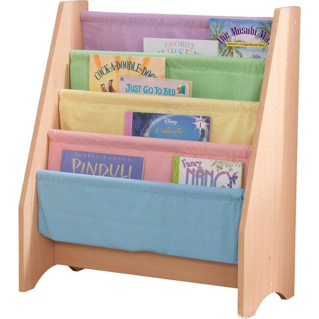 Sling Bookshelf, Pastel - Bookcases - 1
