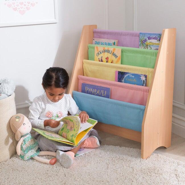 Sling Bookshelf, Pastel