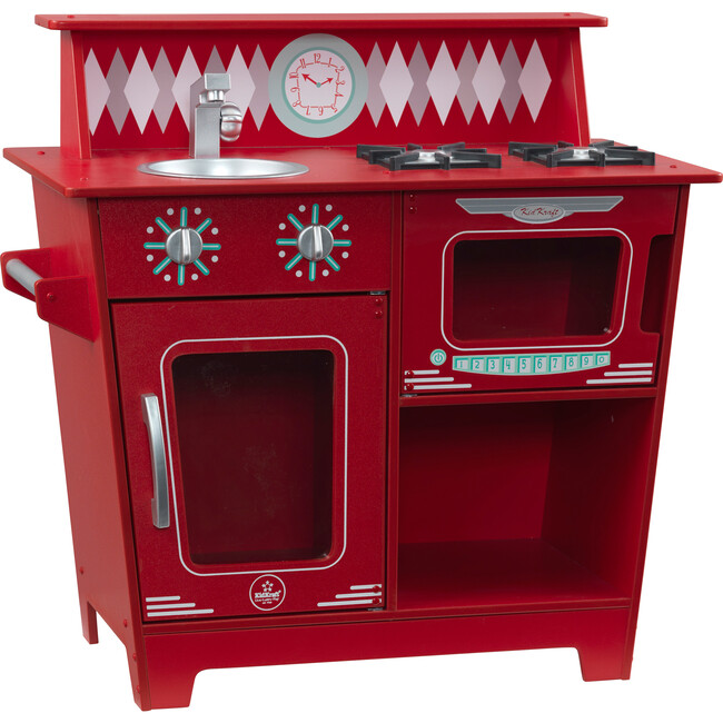 Classic Kitchenette, Red