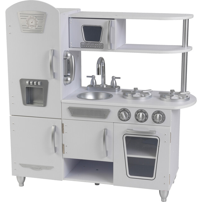 Vintage Kitchen, White