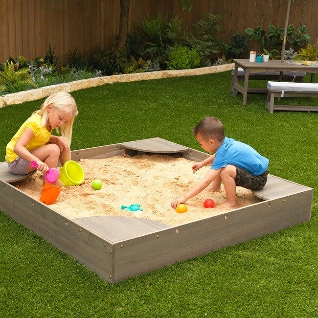 Backyard Sandbox, Gray