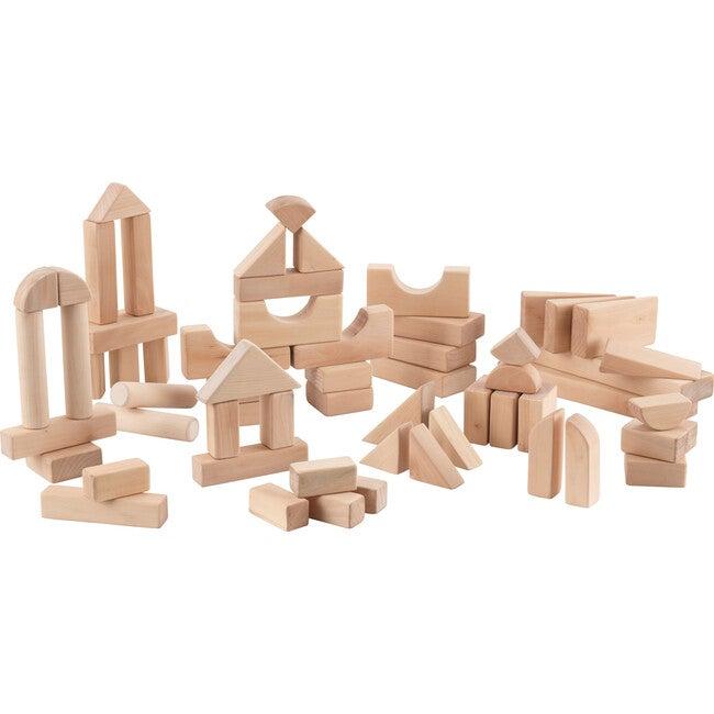 60 Piece Wooden Block Set