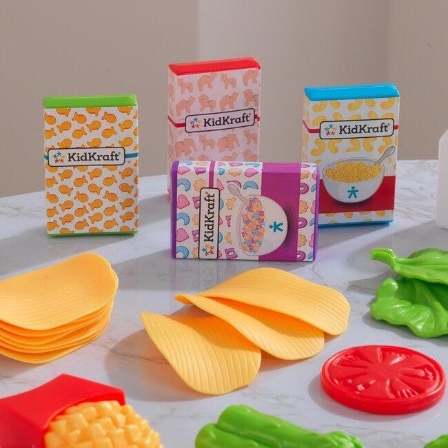 Deluxe Tasty Treat Pretend Play Food Set
