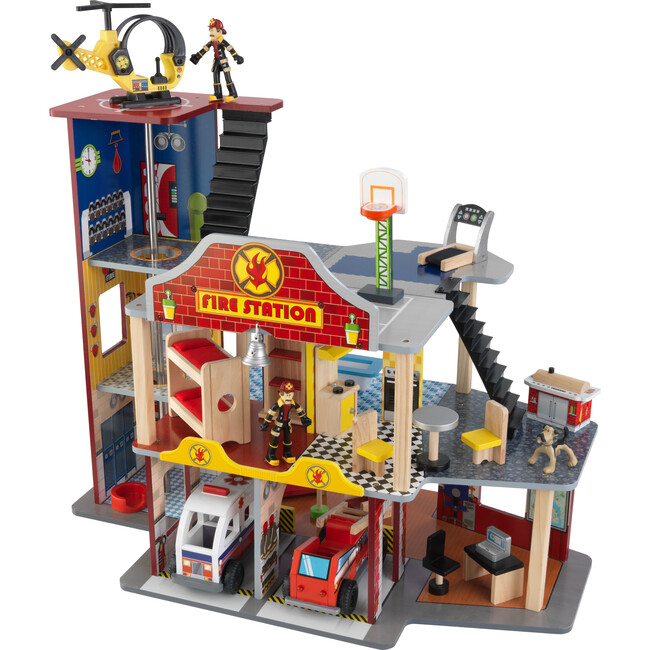 Deluxe Fire Station Set