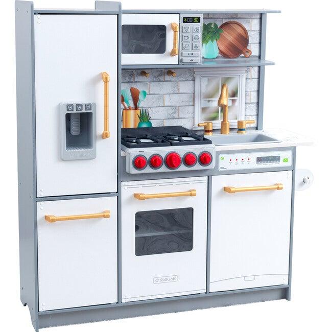 Uptown Elite Play Kitchen, White