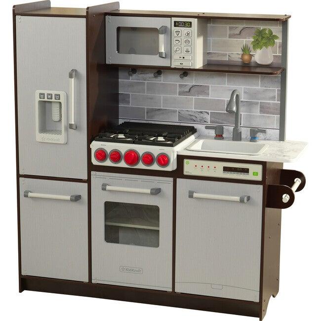 Uptown Elite Espresso Kitchen Ez Assembly - Play Kitchens - 1
