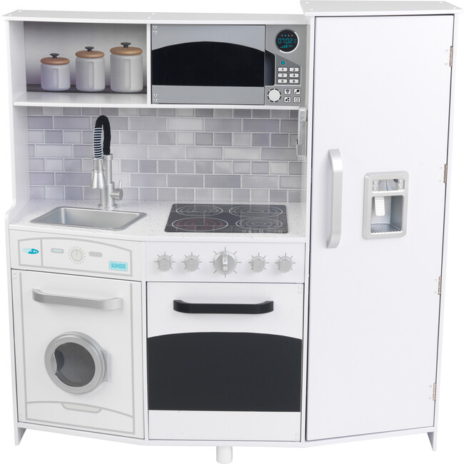 Large Play Kitchen, White