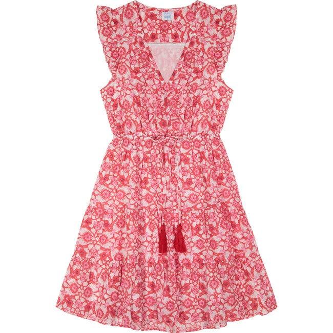 Giselle Women's Mini Dress, Mosaic Block Print