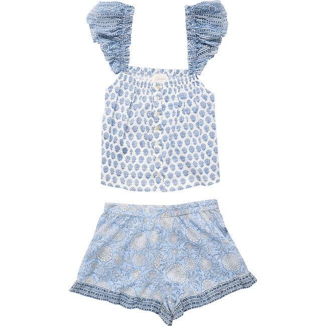 Capella Pajama Set, Hydrangea