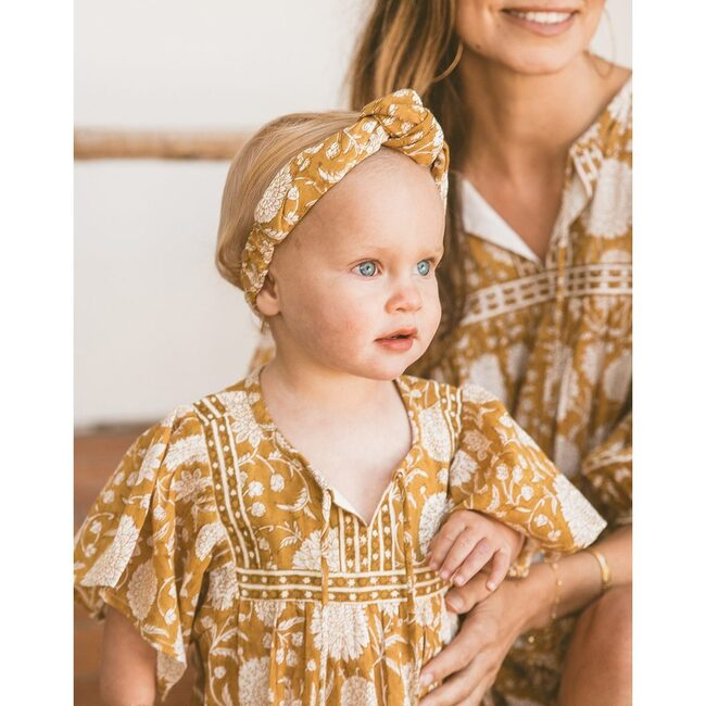 Magdalena Dress, Honey