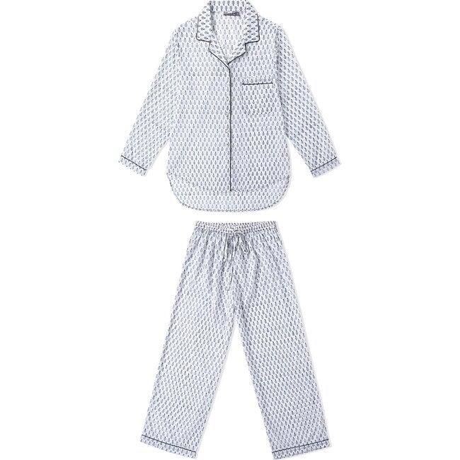 Block-Printed Men's Loungewear Gift Set, Fort