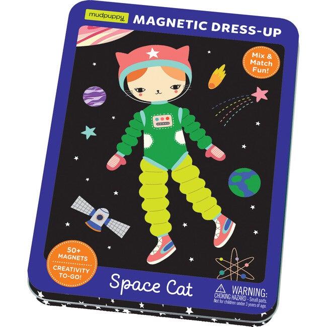 Space Cat: Magnetic Build-It: Mix & Match Magnetic Parts!